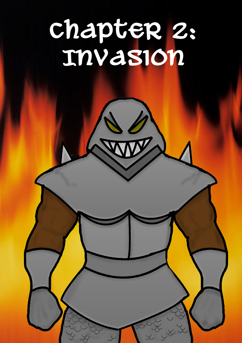 Chapter 2 Cover: Invasion