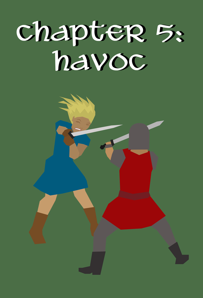 Chapter 5 Cover: Havoc